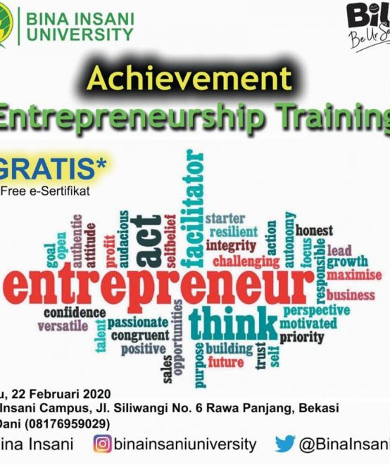 Achievement Entrepreneurship Training