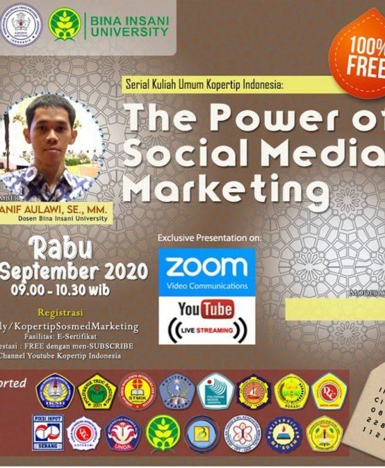 Serial Kuliah Umum Daring Kopertip Indonesia